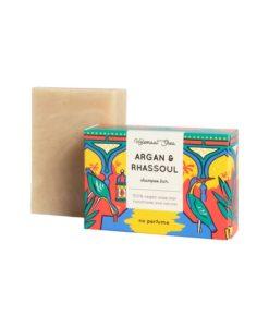 Helemaalshea - Argan & Rhassoul Shampoo Bar1