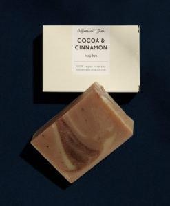 Helemaalshea - Cacao & Cinnamon Soap