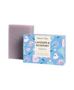 Helemaalshea - Lavender Rosemary Shampoo Bar 1