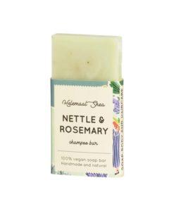 Helemaalshea - Nettle & Rosemary Shampoo Bar - Mini 1