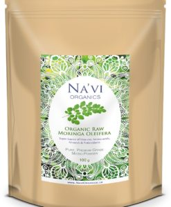 Na'Vi Organics - Premium Raw Organic Moringa Oleifera Leaf Micro- Powder1