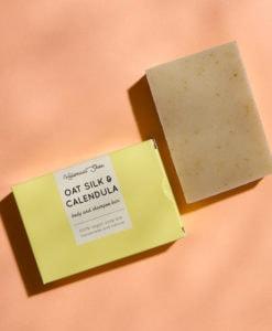 Oatsilk & Calendula body and shampoo bar - HelemaalShea