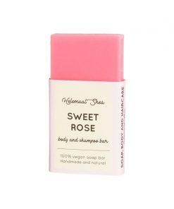 helemaalshea - Sweet Rose Body & Shampoo Bar - Mini 1