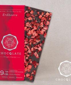 Chocqlat - Bio Virgin Cacao Schokolade Erdbeere2