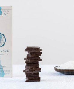Chocqlate - Bio Virgin Cacao Schokolade Fleur de Sel1