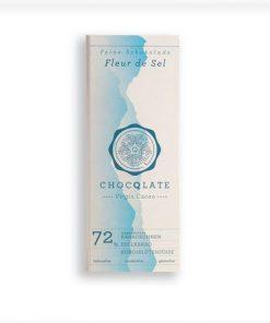 Chocqlate - Bio Virgin Cacao Schokolade Fleur de Sel2