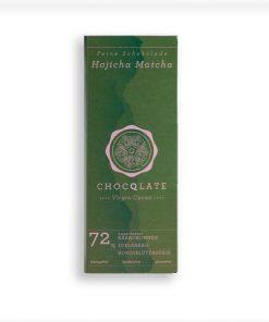 Chocqlate - Bio Virgin Cacao Schokolade Hojicha Matcha2