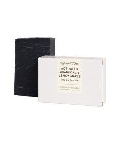 Helemaalshea - Activated Charcoal & Lemongrass Soap 1