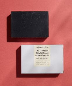 Helemaalshea - Activated Charcoal & Lemongrass Soap 2
