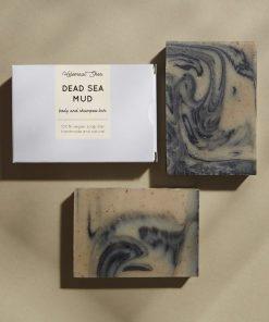 Helemaalshea - Dead Sea Mud Body & Shampoo Bar 2