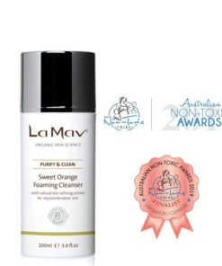 La Mav - Sweet Orange Foaming Cleanser3