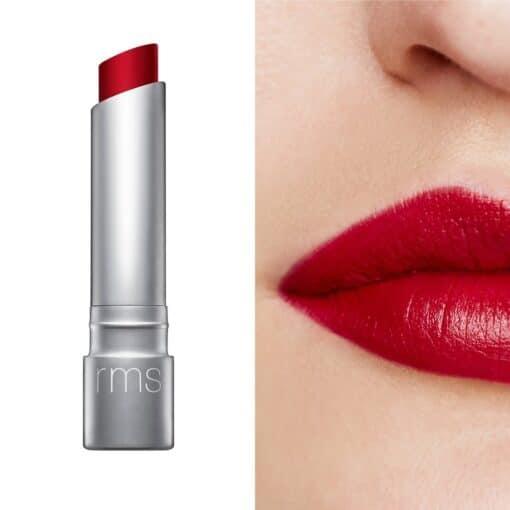 rms rebound wilde with desire lipstick