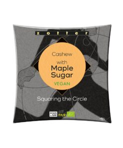 Zotter - Squaring The Circle - 1 Cashew with Maple Sugar