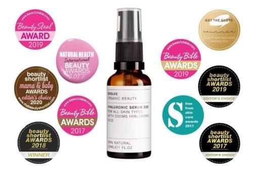 Evolve Organic Beauty 1 hyaluronic serum 200